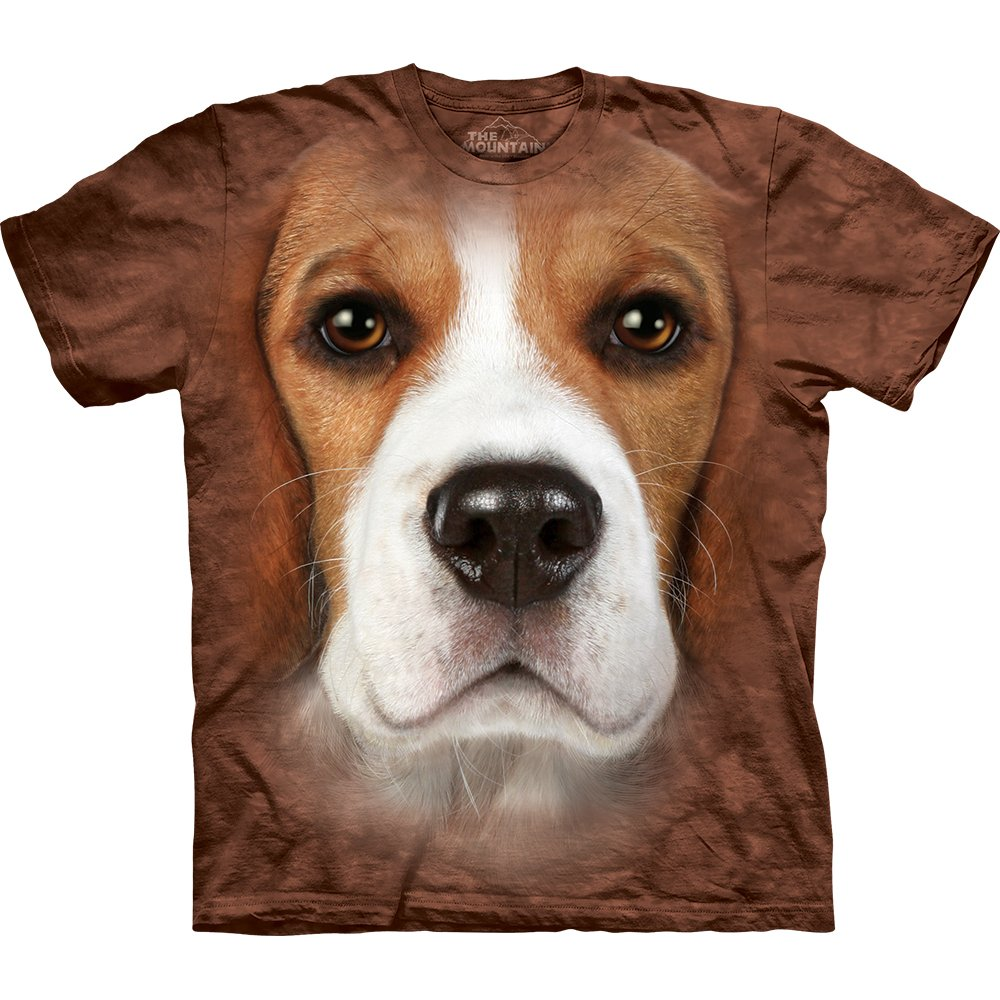 Hunde T-Shirt Beagle Face