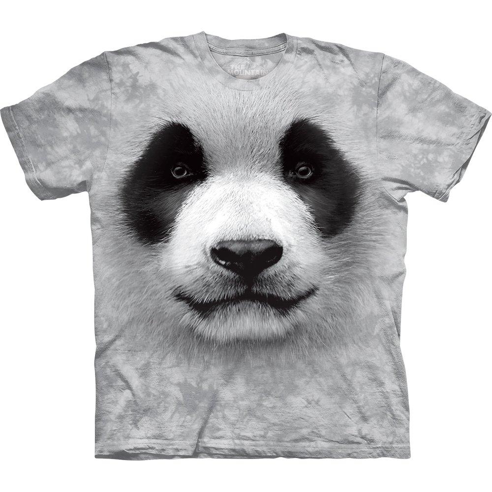 panda t shirt big panda face 29 99 the mountain shirts onlin. Black Bedroom Furniture Sets. Home Design Ideas
