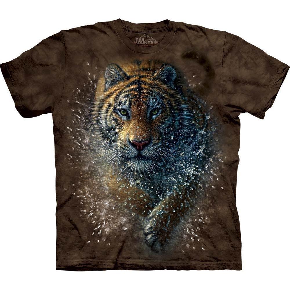 tiger kinder t shirt tiger splash 24 90 the mountain shirts. Black Bedroom Furniture Sets. Home Design Ideas