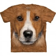Hunde T-Shirt Big Face Jack Russell