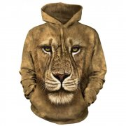 The Mountain Lion Warrior Hoodie