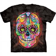 Totenkopf T-Shirt Day of the Dead