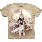 Wolf T-Shirt Young & Wild