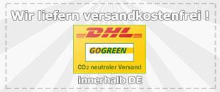 Wir liefern innerhalb Deutschland versandkostenfrei !