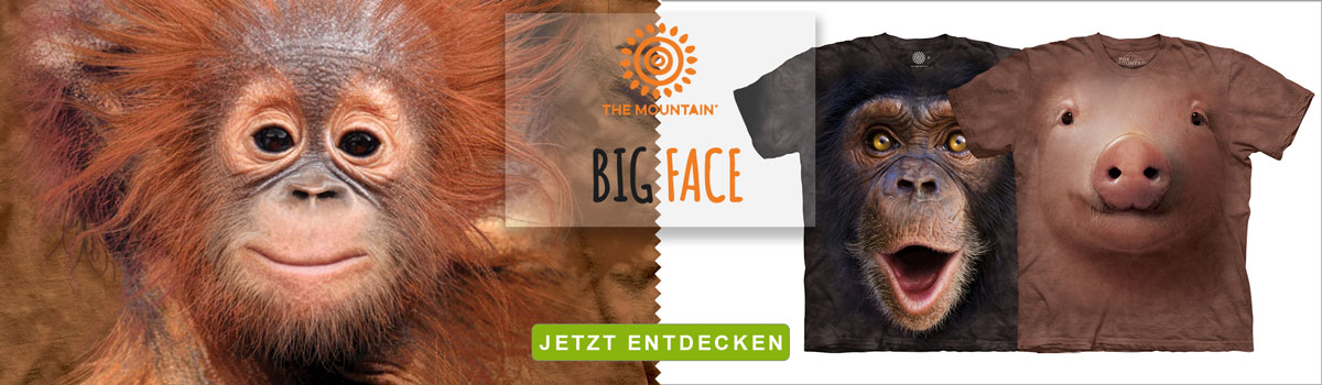 The Mountain Big Face T-Shirts