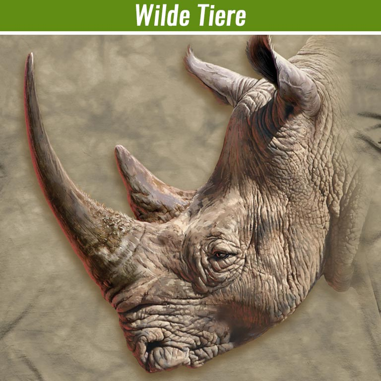 Wilde Tiere T-Shirts