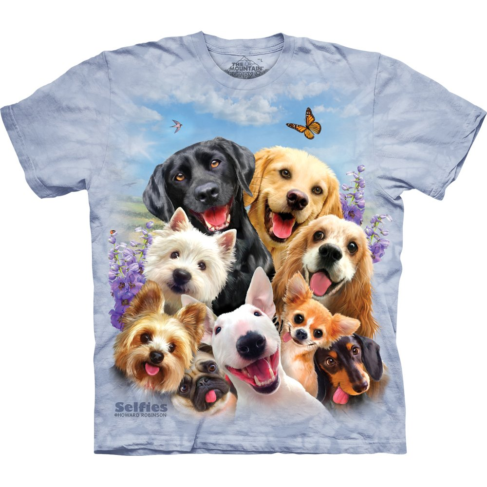 Hunde T Shirt Dogs Selfie 28 99 The Mountain Shirts