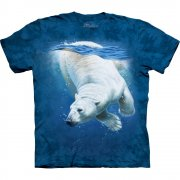 Eisb�r T-Shirt Polar Bear Dive