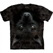 Fledermaus T-Shirt Bat Head
