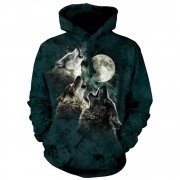 The Mountain Hoodie Three Wolf Moon Classic