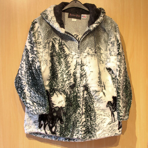 Fleecejacke Three Horse