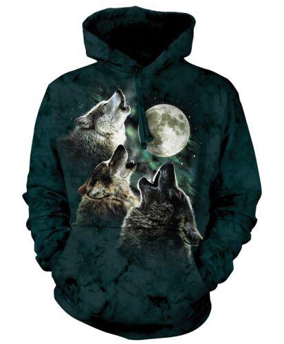 8df48518b6b925 Hoodie Three Wolf Moon Classic ...