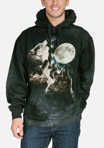 4012371663cdd0 ... Hoodie Three Wolf Moon Classic