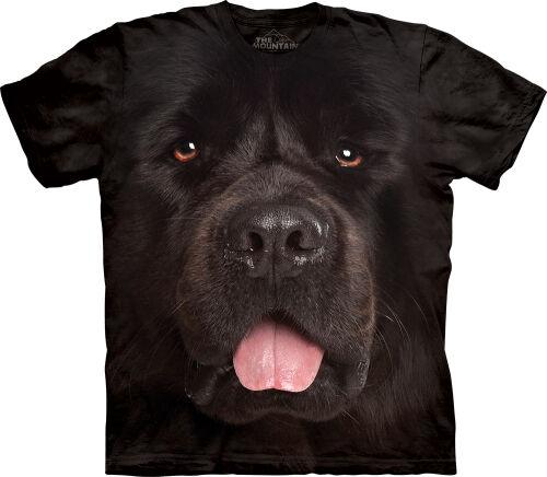 d5e9c1fae035 T-Shirt mit Neufundländer Motiv in der Farbe schwarz ...