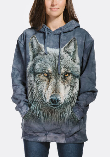 The Mountain Hoodie Warrior Wolf S