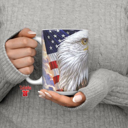 Adlermotiv Tasse Independence Eagle