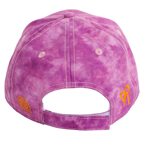 Golden Retriever Purple Baseball Cap