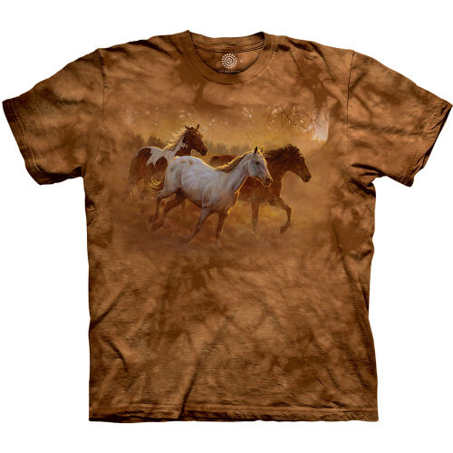 Pferde T-Shirt Gold Run 3XL