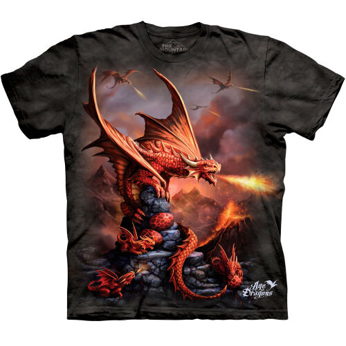 Drachen Kinder T-Shirt Fire Dragon