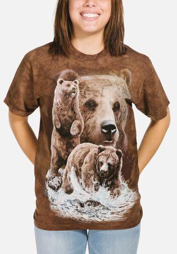 89d75a2c3eb72 T-Shirt mit 10 versteckten Bären - Bären Such T-Shirt -.