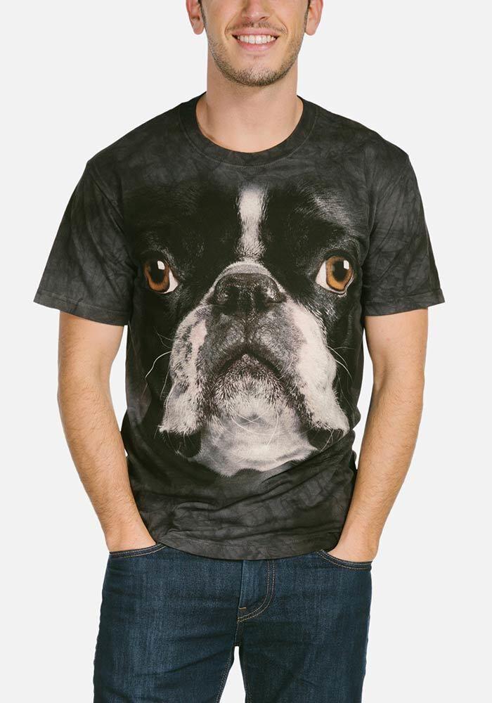 Boston terrier t shirt bestellen tshirts for Boston rescue 2 t shirt