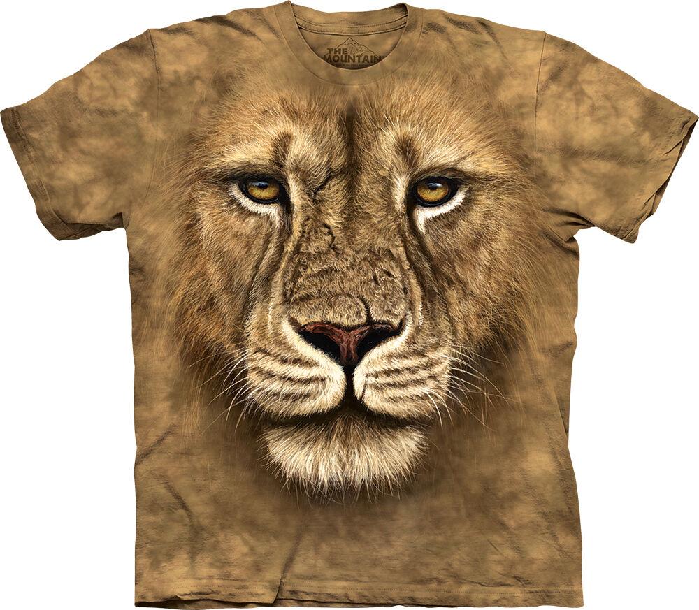 f1232607e68f2 Löwen T-Shirt Lion Warrior günstig kaufen Farbe braun ...