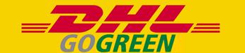 Wir versenden mit DHL